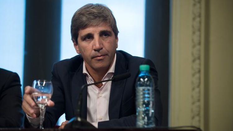 Luis Caputo, ministro de Finanzas. (Adrián Escandar)