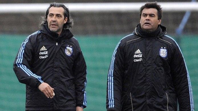 En 2008, Tata Brown compartió el banco de la Selección con el Checho Batista. Ambos dirigieron a la Sub 23 en los Juegos Olímpicos de Beijing 2008 (NA)