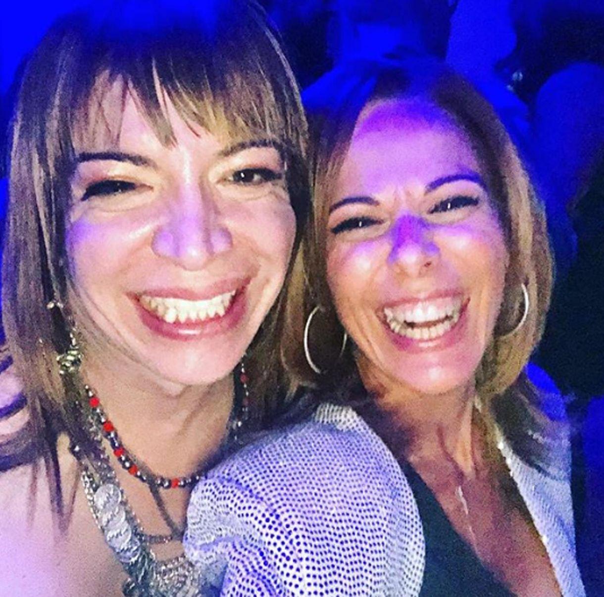 Lizy Tagliani con Iliana Calabró en su cumpleaños (Foto: Instagram)