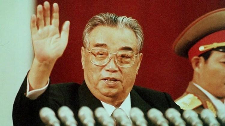 Kim Il-song, fundador de la República Democrática y creador de la Oficina 39
