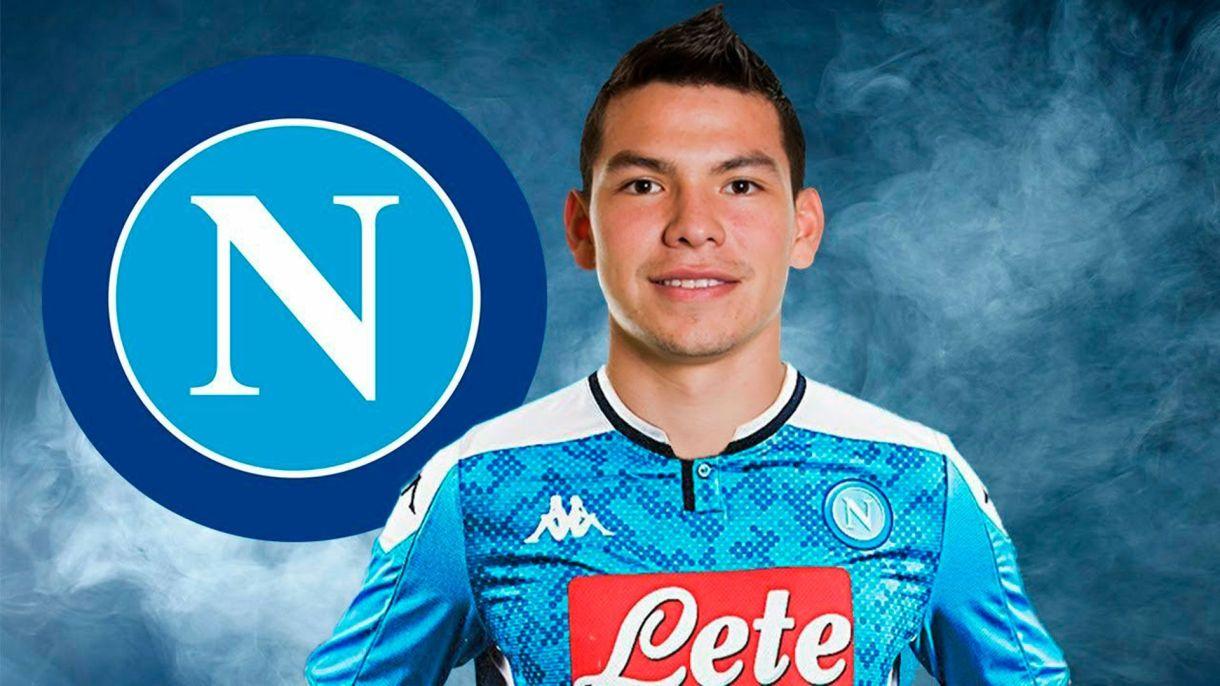 Lozano llegó procedente del PSV de Holanda para reforzar el ataque del Napoli (Foto: Twitter)