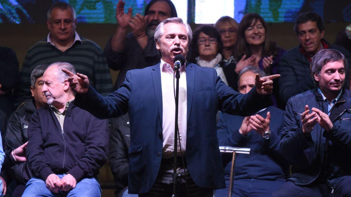 Alberto Fernández, candidato del Frente de Todos (Franco Fafasuli)