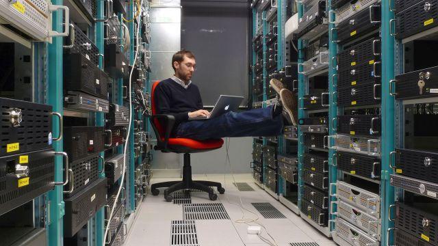 Un data center de Nvidia