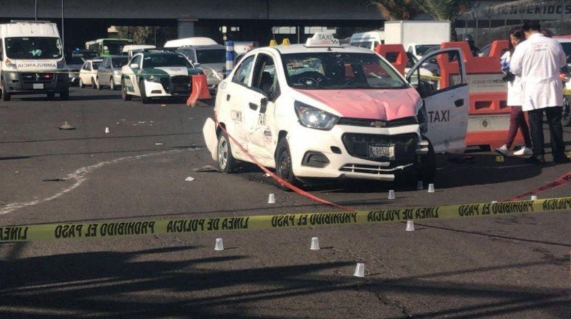 La balacera dejó un saldo de dos heridos, entre ellos un policía (Foto: Especial)