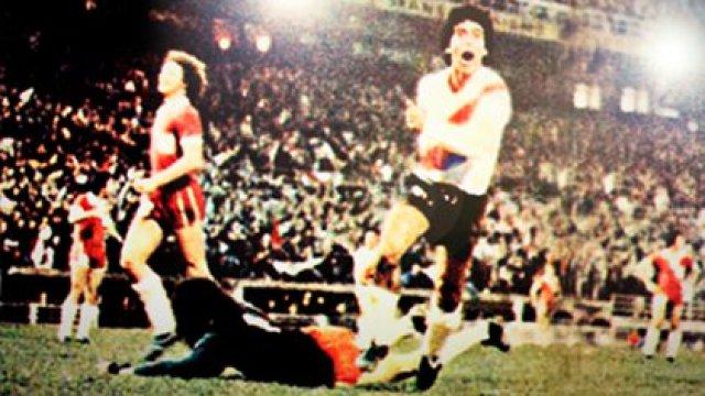 Rubén Bruno, el héroe anónimo de River: el hombre que marcó el gol ...