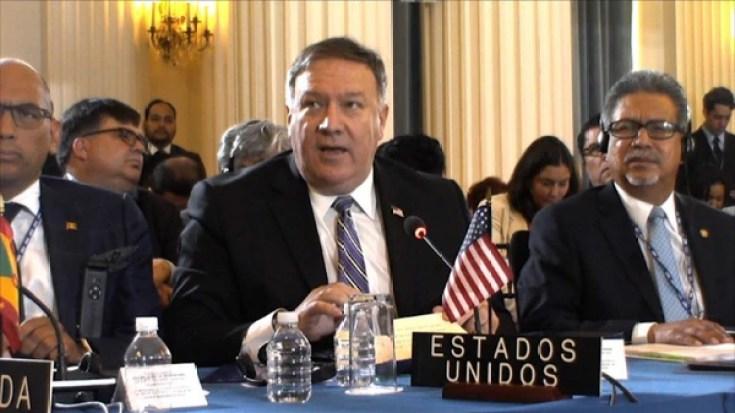 Mike Pompeo, secretario de Estado de los EEUU (AFP)