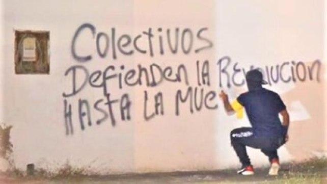 Los colectivos han sido determinantes en la frontera para reprimir a opositores