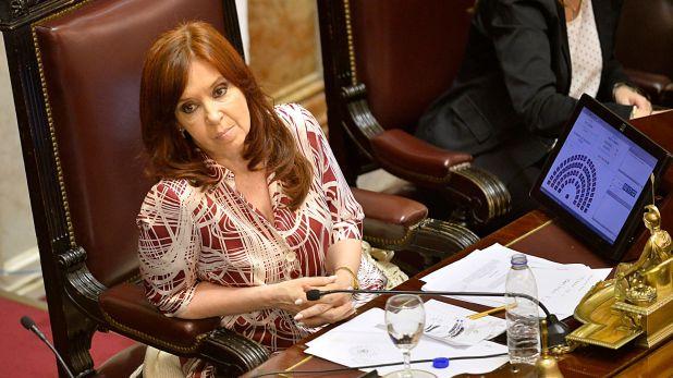 (Cristina Fernández, vicepresidente. Gustavo Gavotti)