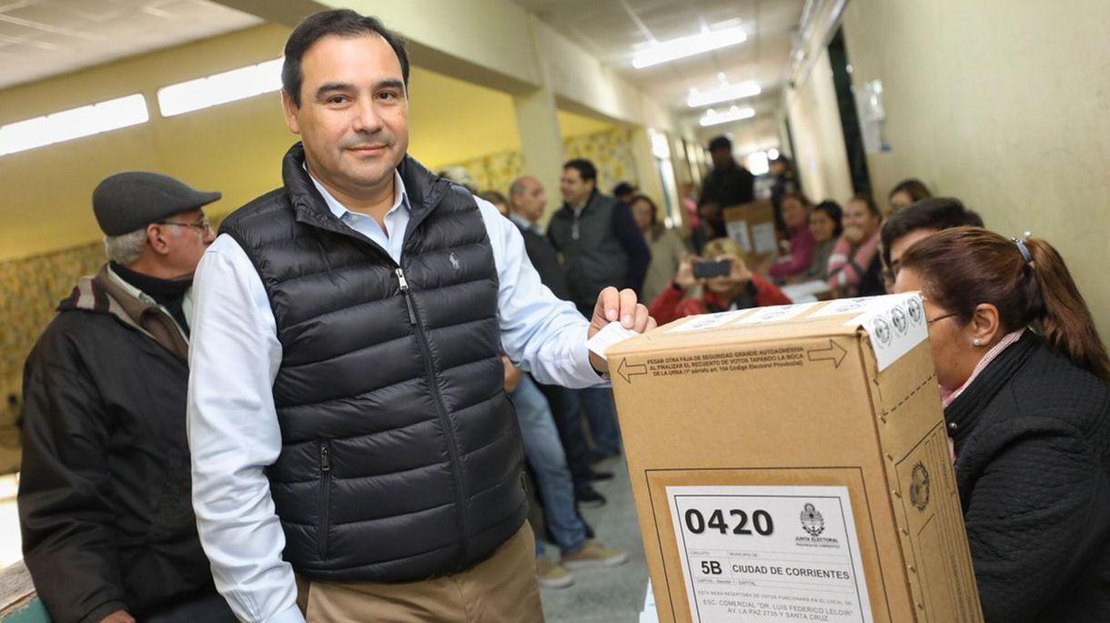 El gobernador Guillermo Valdés (Twitter: @ECOCtes)