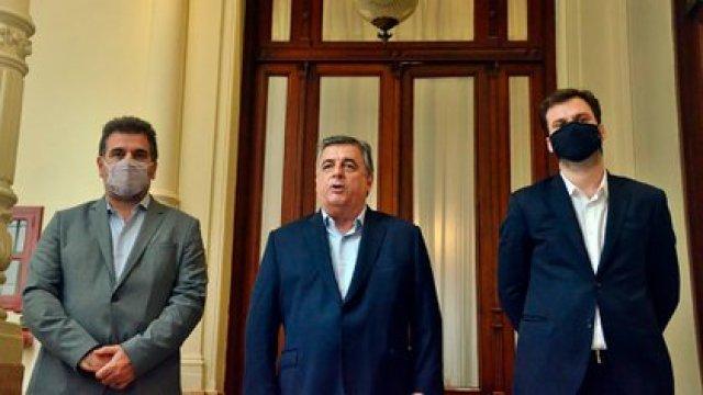 Cristian Ritondo, Mario Negri y Juan Manuel López, los referentes de Juntos por el Cambio en la Cámara de Diputados