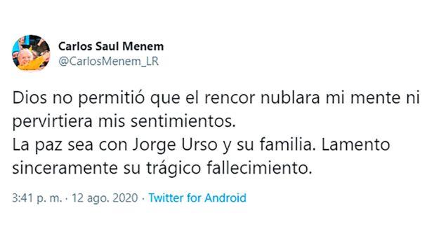 tuit Carlos Menem