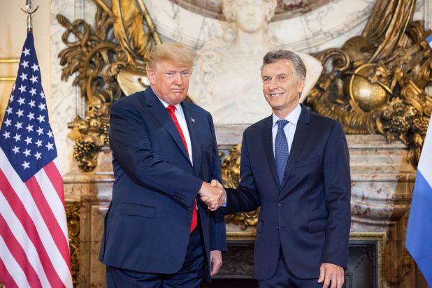 Mauricio Macri y Donald Trump durante la cumbre del G20 en Buenos Aires