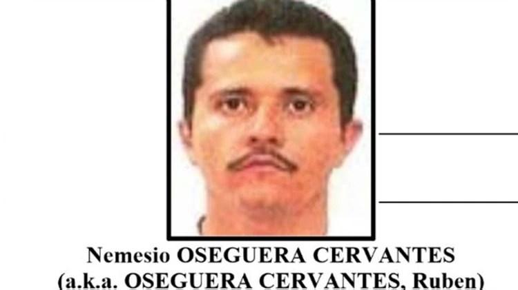 """Nemesio Oseguera Cervantes, alias """"El Mencho"""", el líder del CJNG. (Foto: Archivo)"""