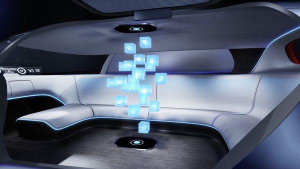 Los hologramas 3D buscan optimizar la gestión de los controles y funciones del interior del vehículo
