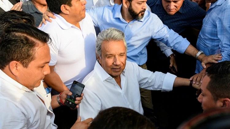 El presidente de Ecuador, Lenín Moreno (Reuters)