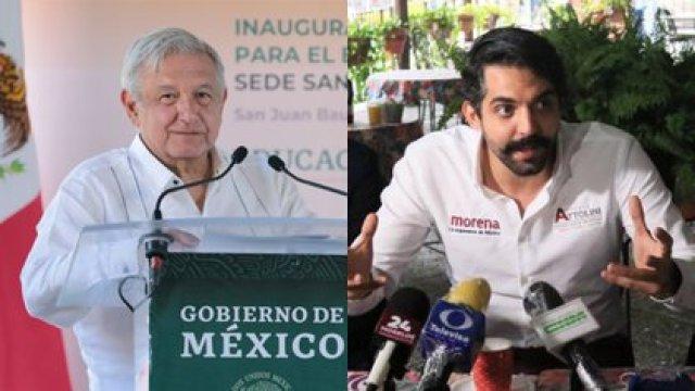 Antonio Attolini - Andrés Manuel López Obrador (Fotos: Cuartoscuro)