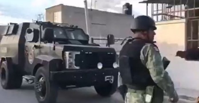 Megaoperative in the State of Mexico ends with the arrest of El Español (Photo: Video capture / Twitter / @siete_letras)