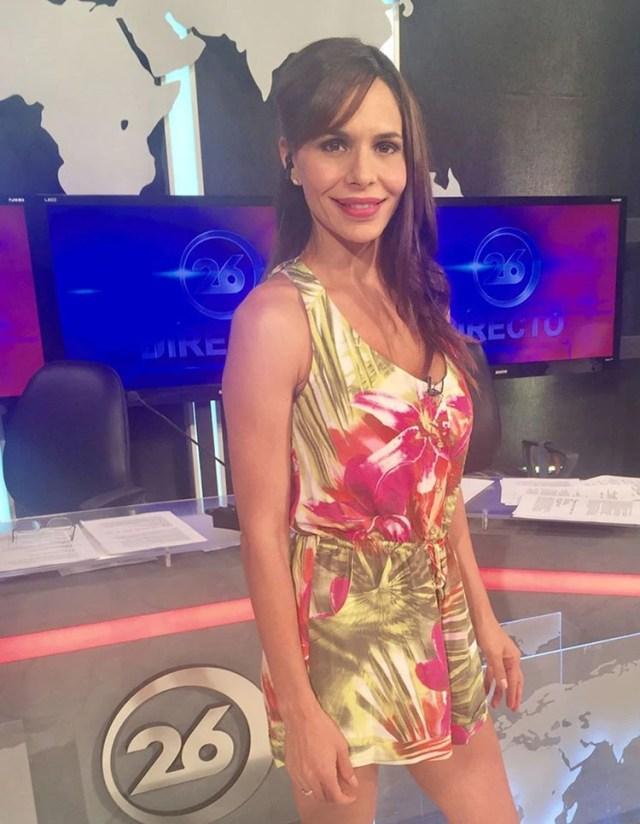Melisa Zurita conduce desde hace más de 15 años distintos noticieros de Canal 26