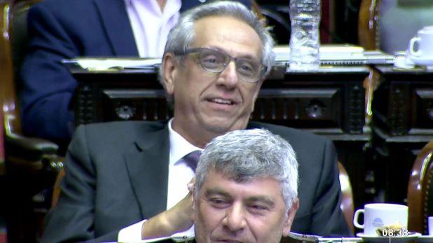 Facundo Suárez Lastra (UCR) fue uno de los dipuados que se abstuvo de votar el proyecto