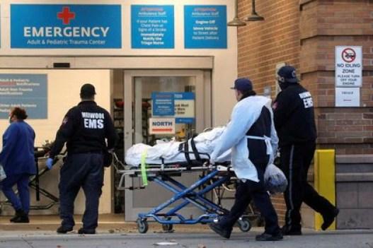 Estados Unidos es el país más afectado por el coronavirus (REUTERS/Brendan McDermid)