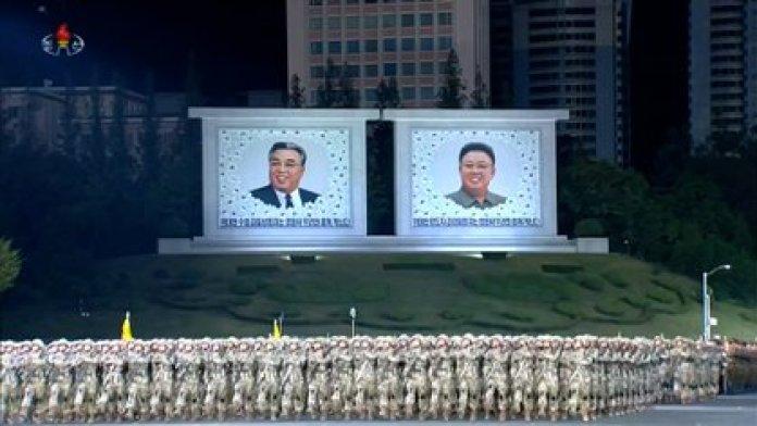 Desfile militar en Corea del Norte (Captura de pantalla)
