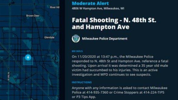 El reporte de la Policía de Milwaukee