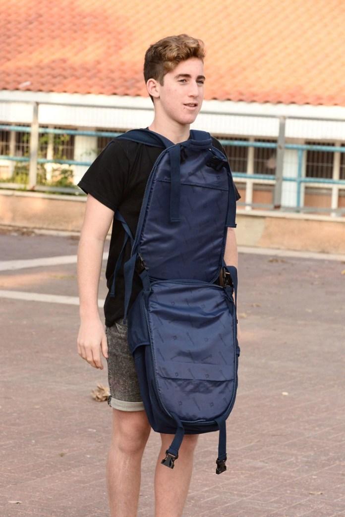 Las mochilas vienen en modelos con uno o dos panales de kevlar (ArmorMe.com)