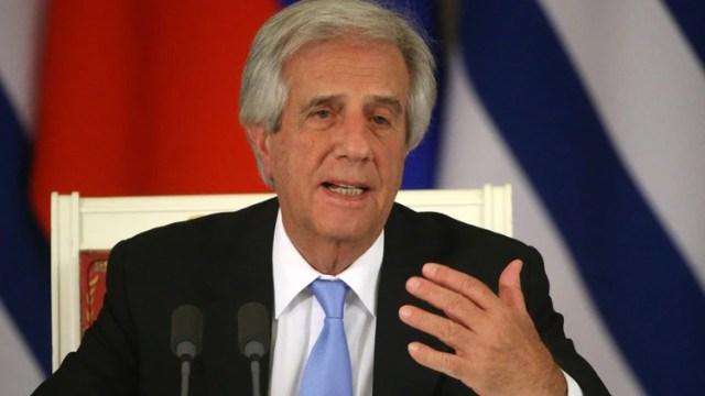 Tabaré Vázquez no estará presente en la cumbre de Chile (Getty)