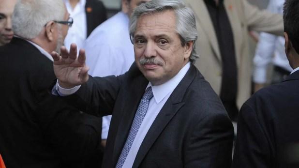 Alberto Fernández, presidente argentino