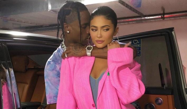 Kylie Jenner y Travis Scott (IG: kyliejnner)