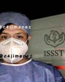 Las trabajadoras del hospital suponen que por la forma en que actuó el sujeto no era la primera vez que lo hacía (Foto: Twitter/c4jimenez)