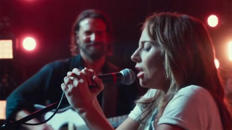 """Lady Gaga y Bradley Cooper en """"A Star is Born"""", una de las favoritas en los Globos de Oro 2019"""