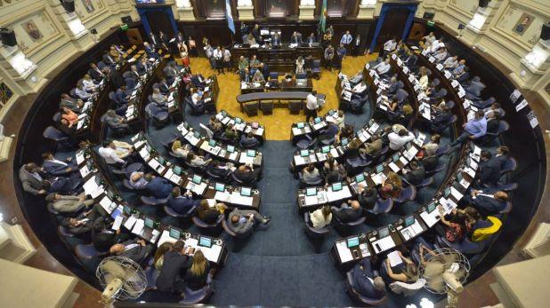 Recinto de la Cámara de Diputados de la provincia de Buenos Aires