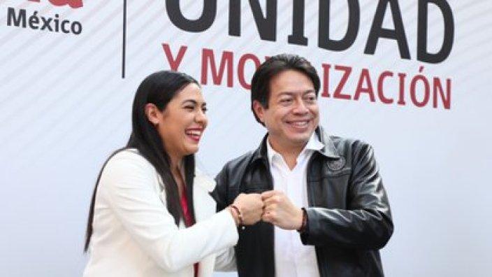 La elegida en San Luis Potosí se sumará a otras seis mujeres candidatas a gubernaturas en Morena (Foto: Cortesía Morena)