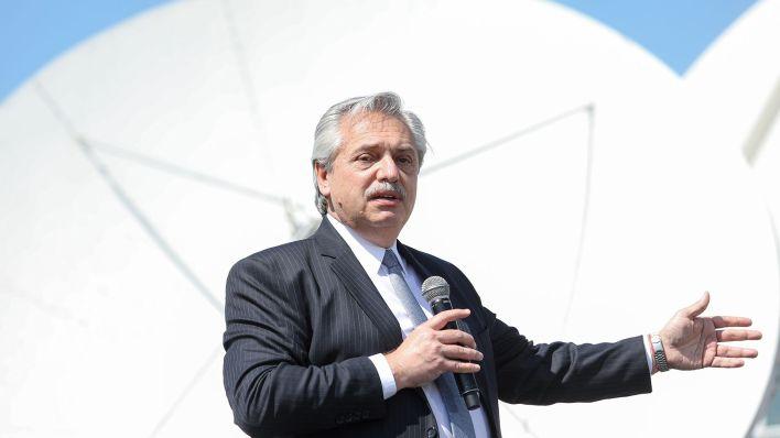 Puesta en marcha de un nuevo satélite ARSAT Alberto Fernández