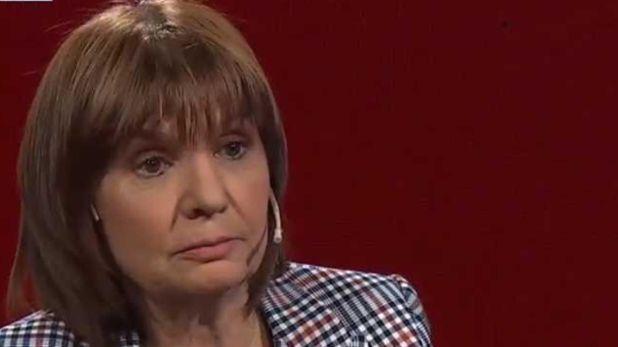 Patricia Bullrich, ex ministra de Seguridad