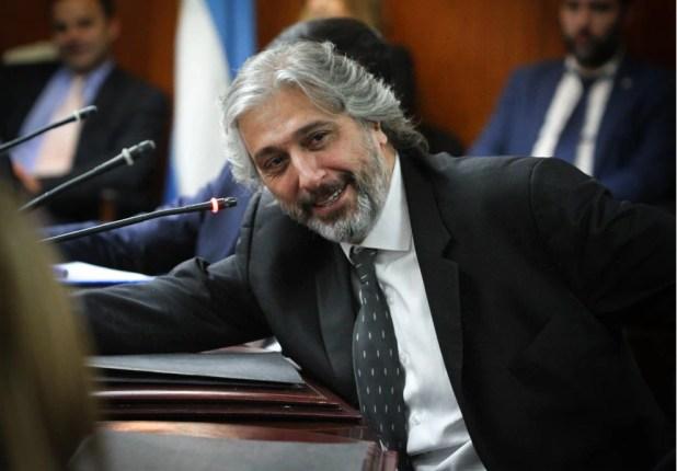 El abogado y consejero de origen radical Juan Pablo Mas Vélez, que promovió un dictamen para desestimar las denuncias contra el juez Canicoba Cabral (Foto: Consejo de la Magistratura)