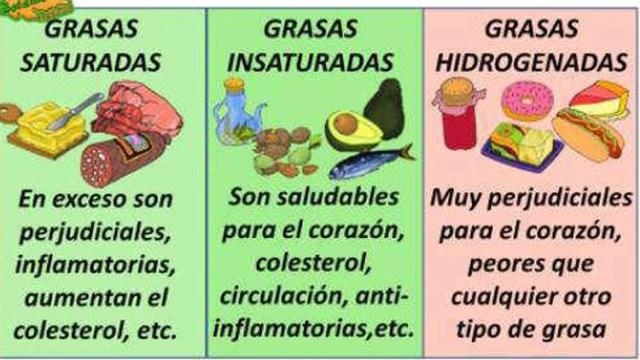 Tipos de grasa
