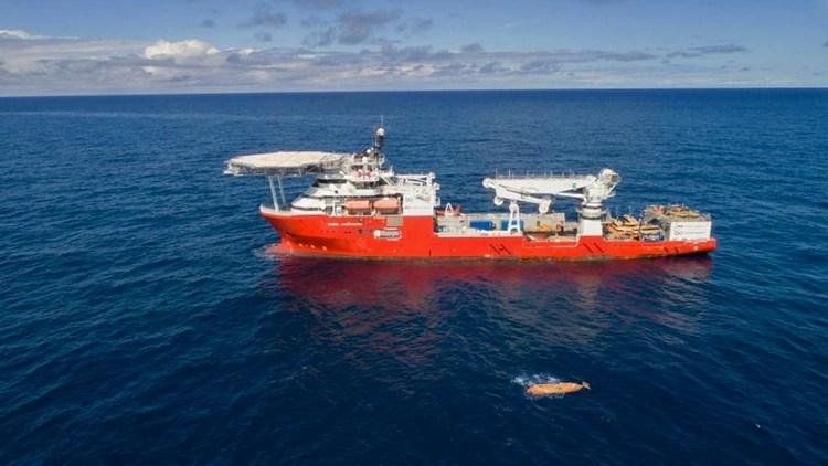 El buque Seabed Constructor