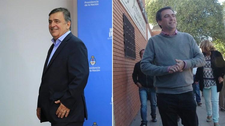 Mario Negri y Ramón Mestre