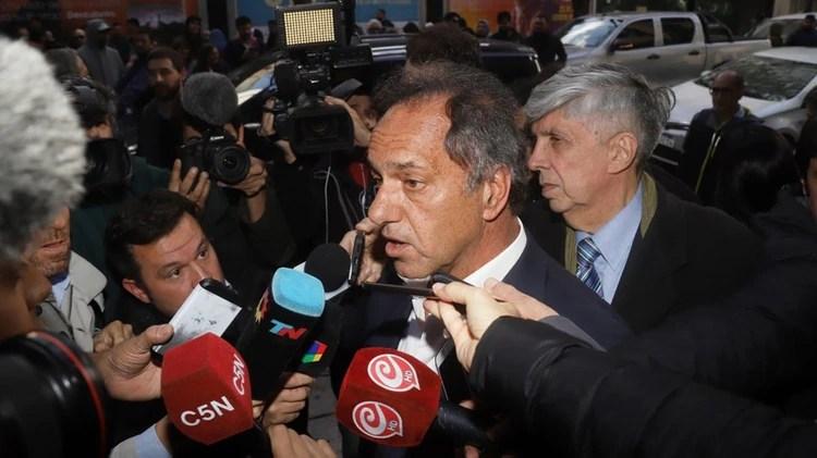 El diputado nacional Daniel Scioli