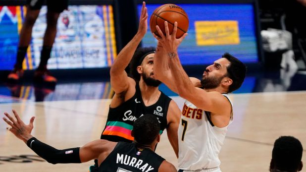 Facundo Campazzo San Antonio Spurs Denver Nuggets