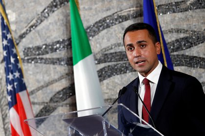 El canciller italiano Lugi Di Maio (REUTERS/Guglielmo Mangiapane/archivo)