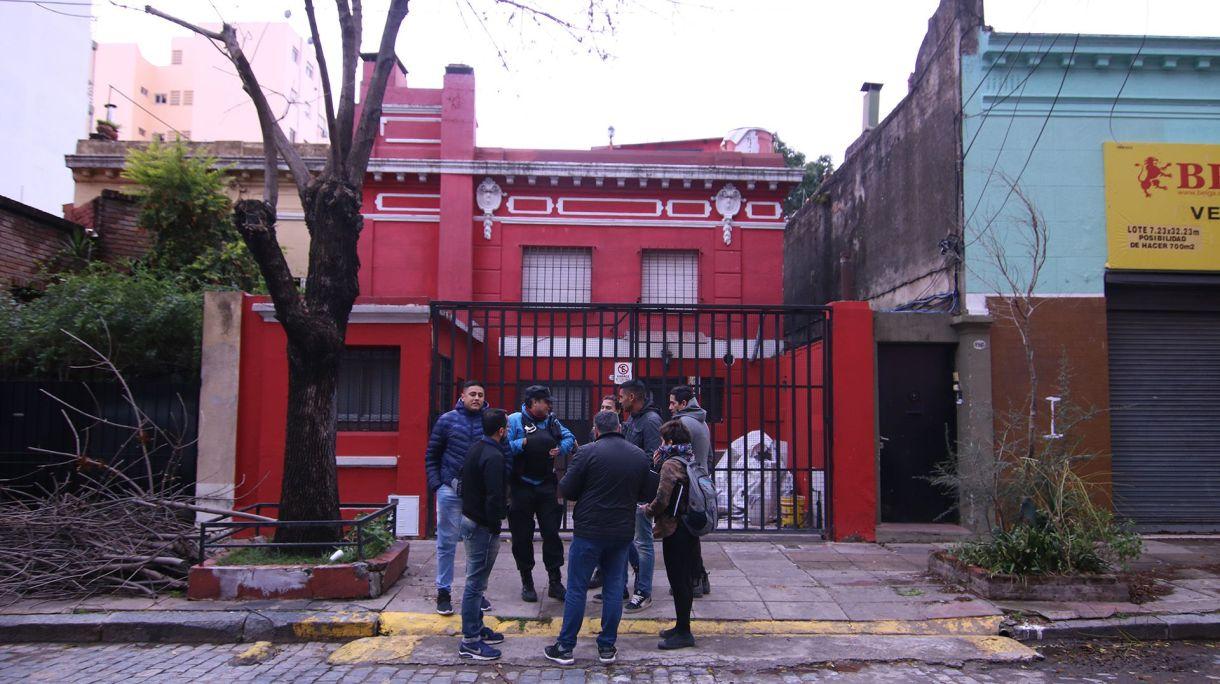 """La casa sobre la calle Céspedes, donde fue detenido """"El Gitano"""" Devias"""