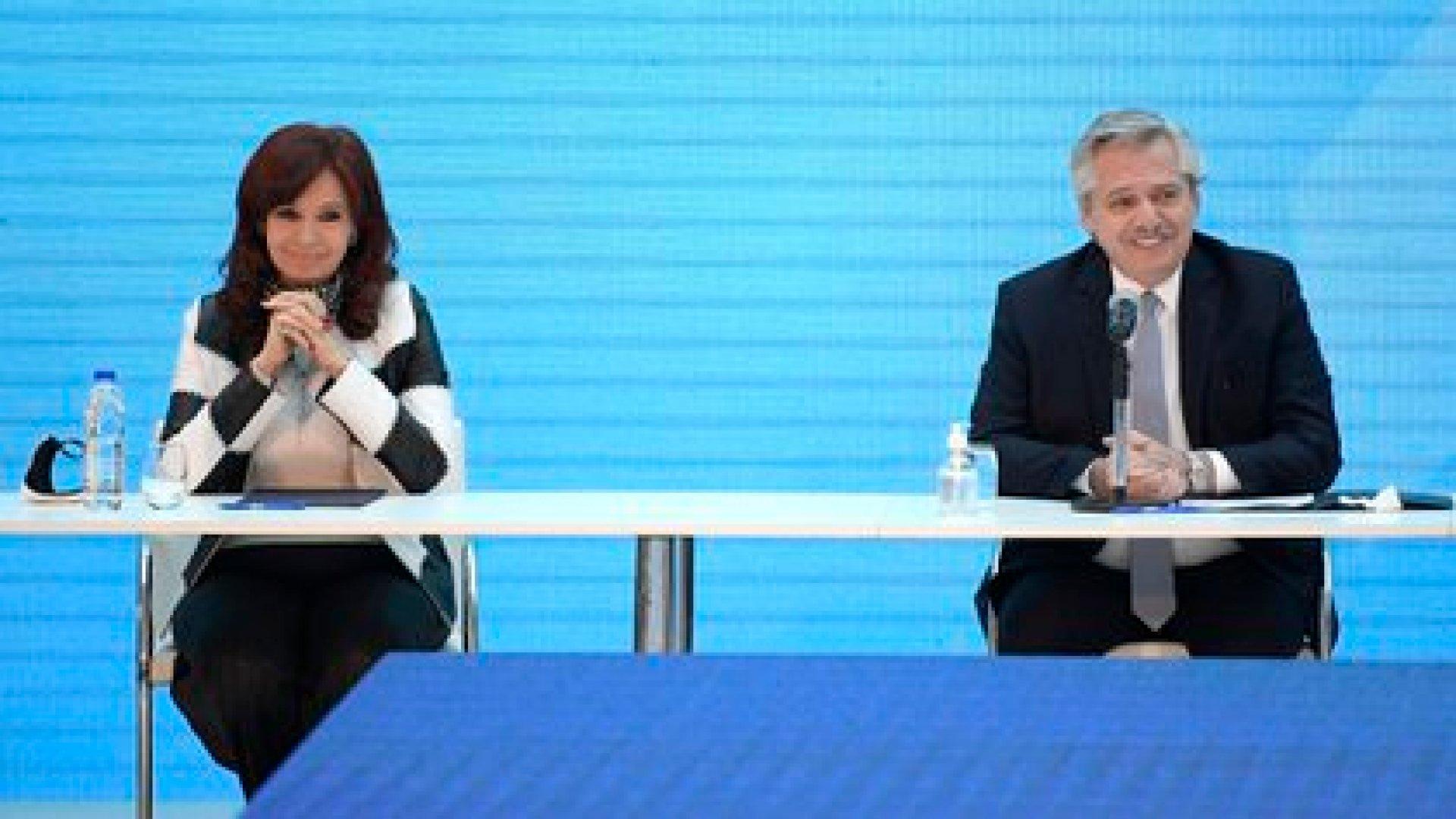 Cristina Kirchner y Alberto Fernández (EFE)