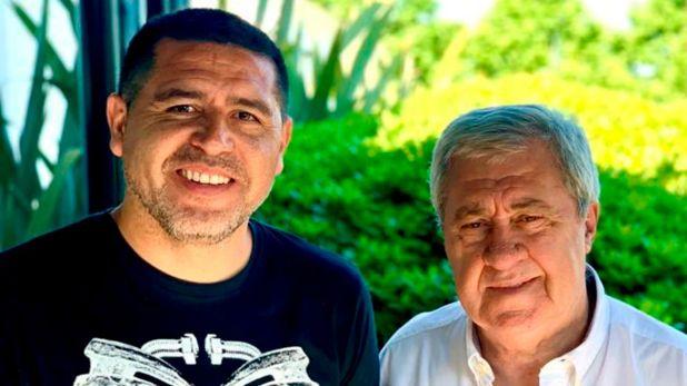 Juan Román Riquelme y Jorge Amor Ameal viajarán al sorteo de la Copa Libertadores