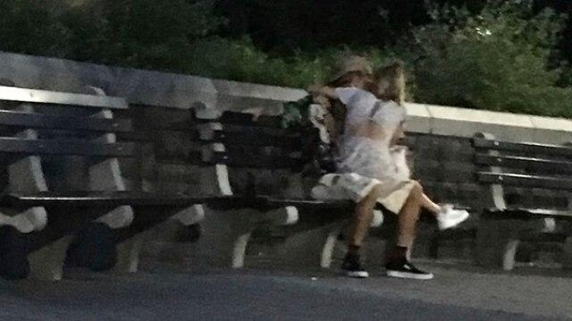 Justin Bieber y Hailey Baldwin derrochan su amor en el parque Rockefellar de Nueva York