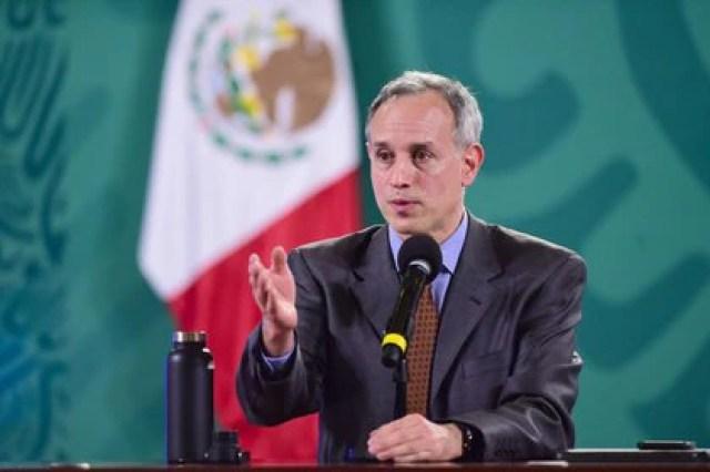 El funcionario pidió que más medios se acerquen a Palacio Nacional para cubrir la conferencia (Foto: Presidencia de México)