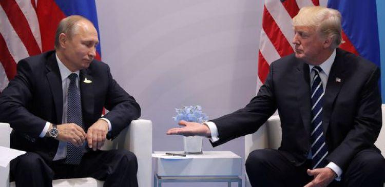 Trump parece que ha quedado en paz con Rusia
