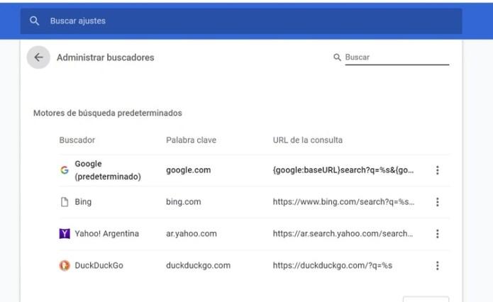 Cómo activar DuckDuckGo desde Google Chrome